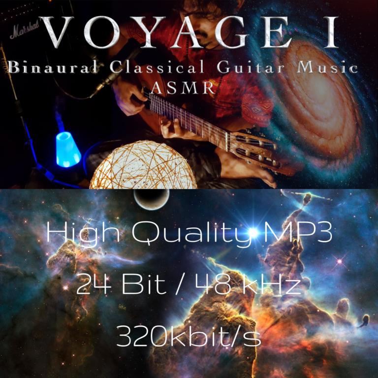 "Voyage I (Luciano Renan) – Meditative Classical Guitar Solo | ASMR Binaural Mix ""8D"" (Wear Headphones)"